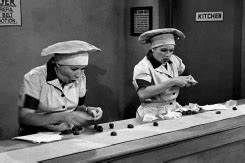 The Glass Character: I love Lucy in the chocolate factory