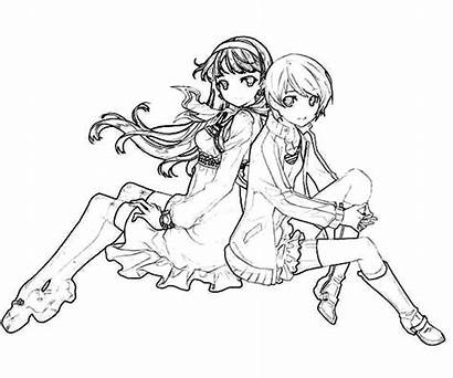 Coloring Pages Friends Friend Bff Sheets Drawing