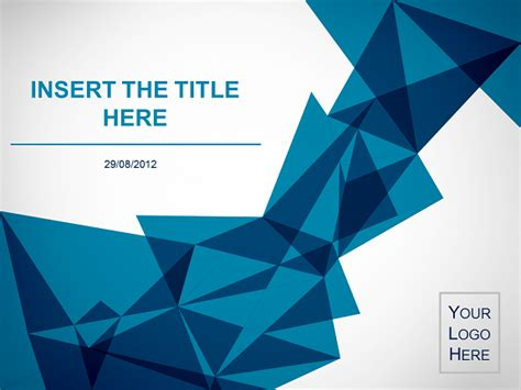 origami  template  powerpoint  impress