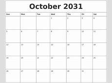 July 2031 Make Calendar