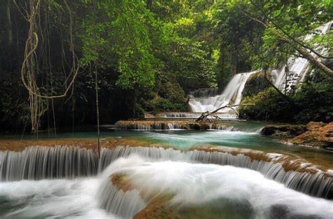 foto air terjun indonesia  jarang dikunjungi