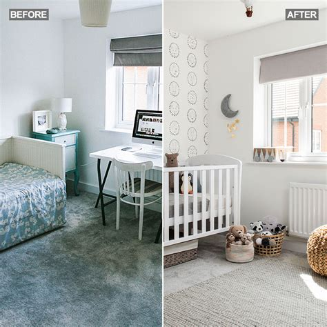 bland guest bedroom  scandi chic