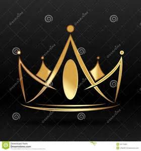 Gold Crown Logo Design
