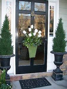 1000 ideas about Front Door Planters on Pinterest
