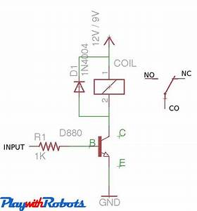 5v Dc Relay Circuit Diagram