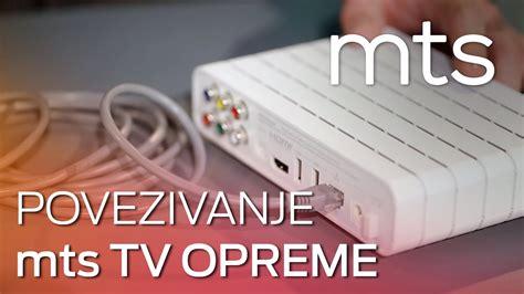 uputstvo za povezivanje  instalaciju mts tv opreme youtube