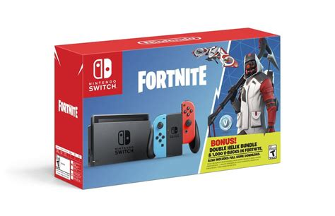 fortnite double helix nintendo switch bundle
