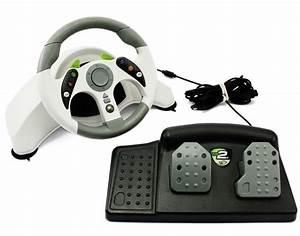 Lenkrad Xbox 360 : xbox 360 mc2 racning wheel lenkrad pedale wei ~ Jslefanu.com Haus und Dekorationen
