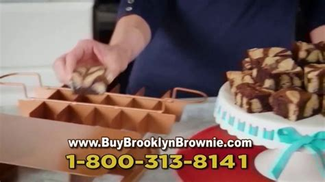 brooklyn brownie gotham steel tv commercial bake slice  serve recipe guide ispottv