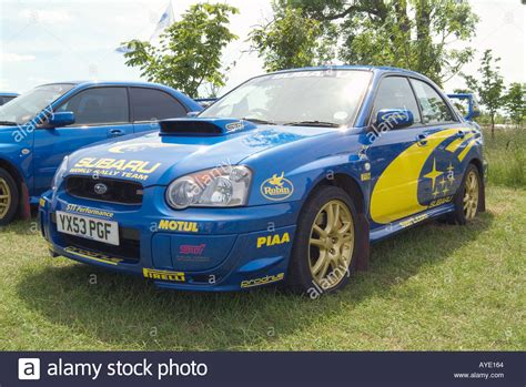 Subaru Rally Car And Wrc Subaru Stock Photos & Subaru