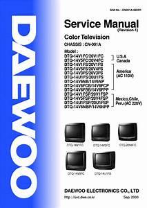 Maitec Audio Y Video  Diagrama De Tv Daewoo Modelo Dtq