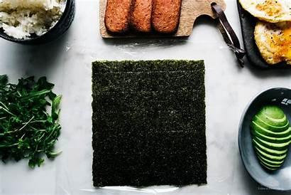 Onigirazu Spam Egg Snack Sushi Iamafoodblog Eat