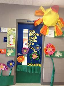 Spring Classroom Door Decor