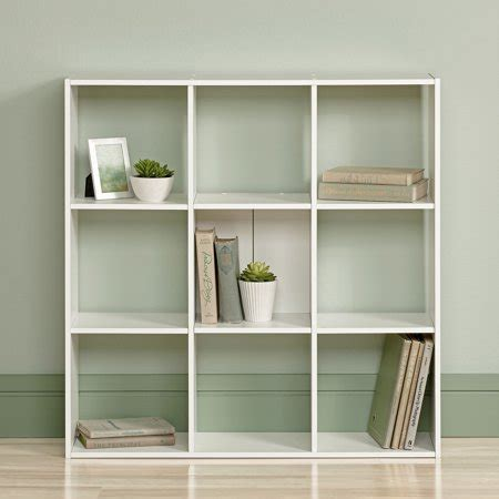 Sauder Bookcase White by Sauder Organizer Bookcase Soft White Walmart