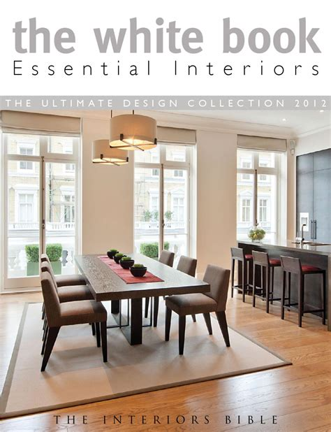 and white dining room issuu the white book essential interiors by montague