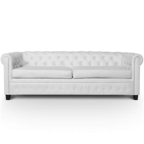 canape chesterfield blanc location canapé chesterfield blanc 2 places disponible sur