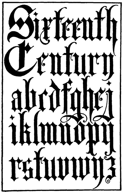 Frank Chouteau Brown | Gothic lettering, Gothic fonts, Calligraphy fonts