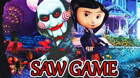 Este juego no es nuevo, posiblemente ya lo hayan jugado en su versión anterior llamada: SOLUCIÓN CORALINE SAW GAME   Coraline y la Puerta Secreta Parte 1 - ManoloTEVE - YouTube