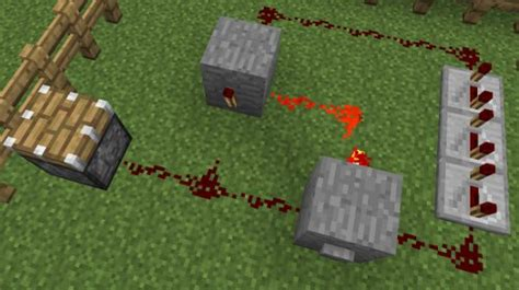 Monostable Circuits Minecraft Guides