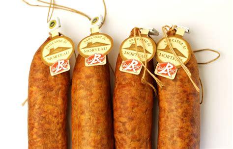 cuisiner une saucisse de morteau saucisses de morteau label x4 la boutique grésard