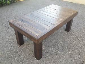 woodworking building a coffee table