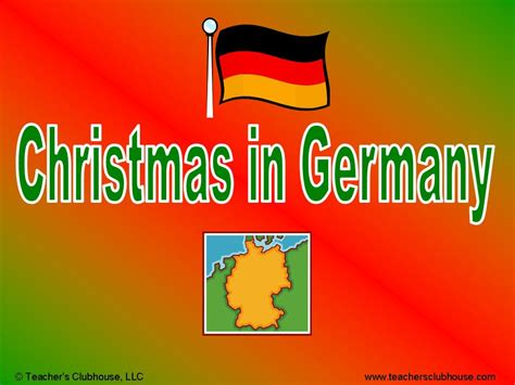 crafts for christmas in germany