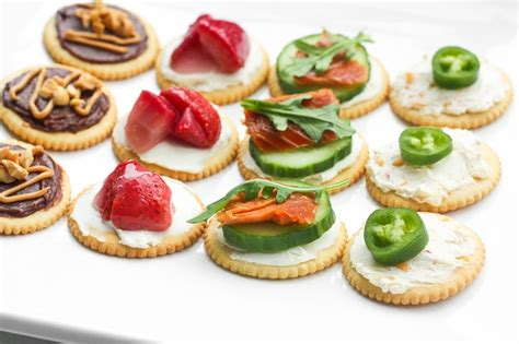 canape topper four and easy ritz cracker recipes ahead of thyme