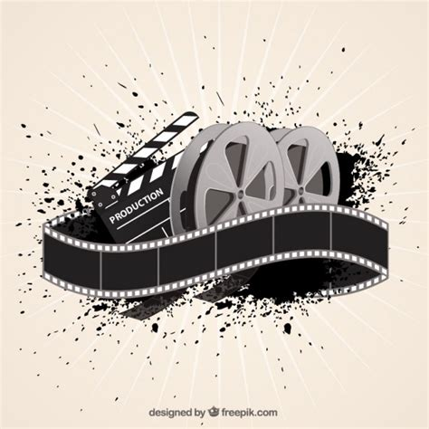 film background  abstract style vector