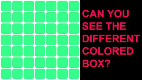 color your if you only see one color you re color blind