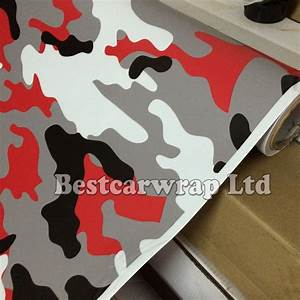 Covering Camouflage Rouge : buy matte glossy red snow camouflage vinyl wrap with air release arctic camo ~ Medecine-chirurgie-esthetiques.com Avis de Voitures