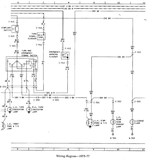 77 Bronco Wiring Diagram fuel injection technical library 187 early bronco wiring