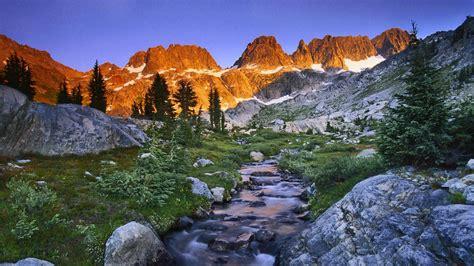 Hd Ansel Adams Sierra Nevada Desktop Wallpapers
