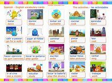 Vocabulario Actividades Activities Vocabulario