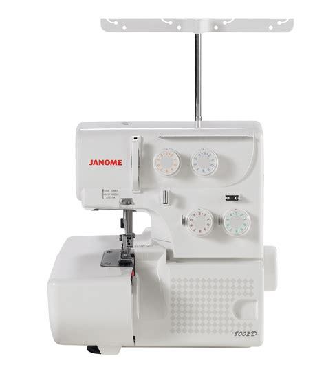 serger sewing machine janome 8002d serger sewing machine jo ann