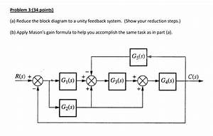 Solved  Answer Part  A  With Block Diagram Reduction  Not