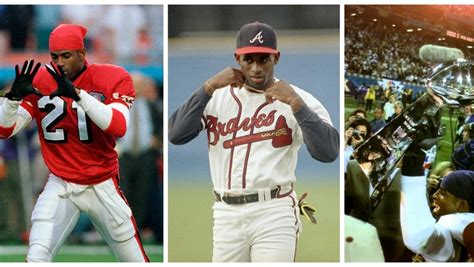 Deion Sanders Super Bowl and World Series