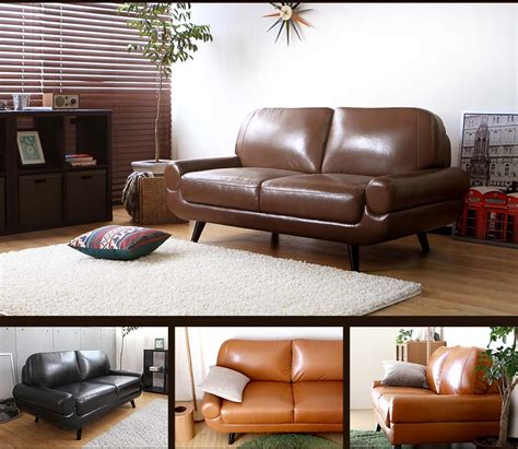 Sofa Seat Singapore by Authen 2 Seater Leather Sofa Bedandbasics Singapore