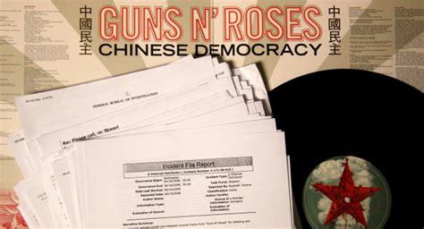 Thekongblog™ Inside Story Behind Guns N' Roses' Chinese
