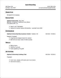 Curriculum Vitae Exles For Students by Cv Template Student Resume Curriculum Vitae