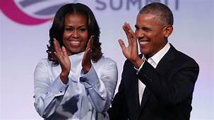 Obamas accused of unethical behavior amid trademark dispute over the name of their company, Higher Ground Productions….