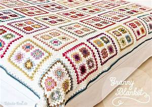 Granny Square Decke : crochet gorgeous granny blanket no pattern but would be easy to reconsruct crochet things ~ Buech-reservation.com Haus und Dekorationen