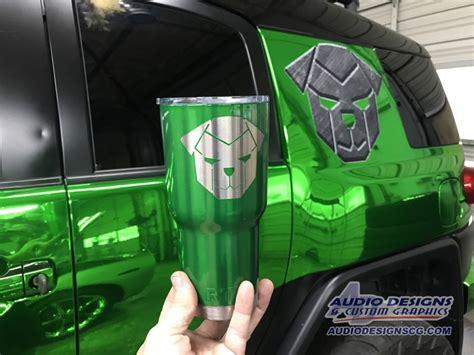 toyota fj cruiser vehicle wrap car stereo audio