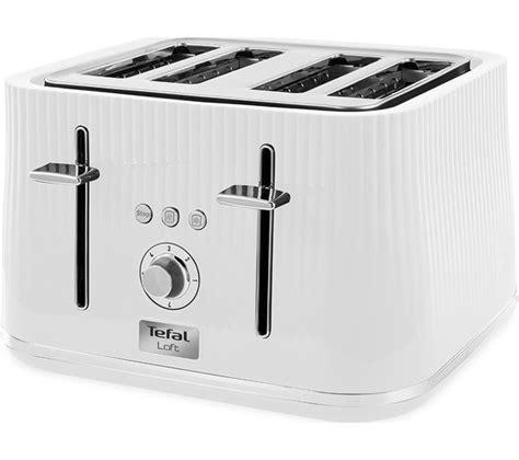 tefal toasters uk buy tefal loft tt60140 4 slice toaster white free