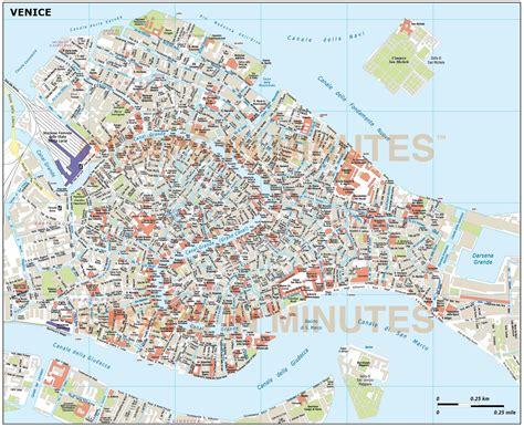 digital vector venice city royalty  map  illustrator