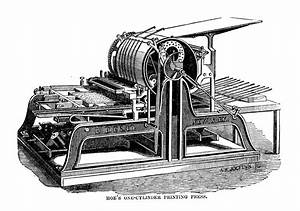 Cranston Drum Cylinder Press, 1890s