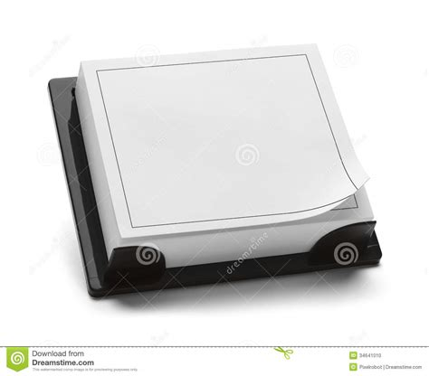 blank desktop calendar stock photo image