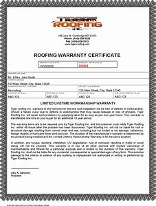 Warranty certificate templates download free premium templates forms samples for jpeg for Roofing warranty template