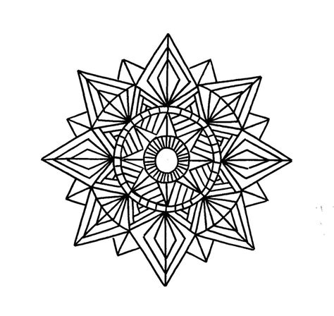 designs to color free printable geometric coloring pages for