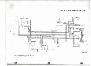 International Harvester 444 Wiring Diagram