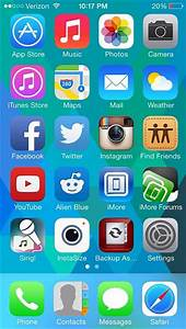 Image Gallery iphone home screen